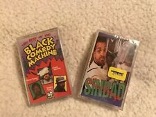 NEW / SEALED: SINBAD-BRAIN DAMAGED / BEST OF BLACK COMEDY Cassettes: 2 Tapes BIN