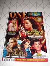 ONE n°85 décembre 2013 Hunger Games Hobbit Stromaé Once Upon a Time
