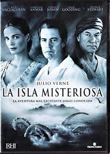 JULIO VERNE: LAS ISLA MISTERIOSA de Mulcahy Tarifa plana en envío dvd España 5 €