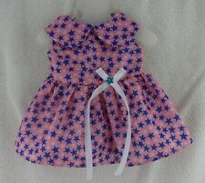 """Doll Clothes Handmade Star Dress Outfit fits 18"""" Our Generation Alexander"""