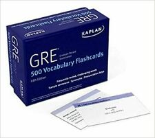 GRE Vocabulary Flashcards Proprietary, Third Edition CARDS 2020 Brand New