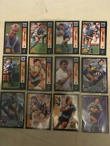 1994 DYNAMIC Rugby League Series 2 Cronulla Sharks Full Base Team Set 12 Cards