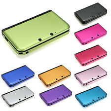 Aluminum Hard Metal 2 Part Protective Skin Cover Case for Nintendo 3DS XL LL