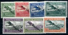 ALBANIEN 1927 144-150 * SATZ FLUGPOST TADELLOS(I2351