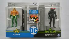 Spin Master DC Heroes Unite Aquaman vs Black Manta Battle Pack