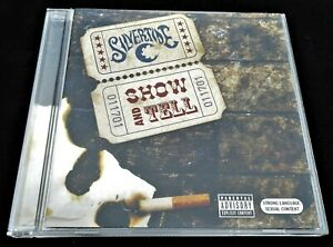 Silvertide: Show & Tell J Records 2004 USA Pressed CD Blues Rock