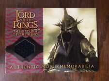 Lord of the Rings, Return of the King, The Witch King costume memorabilia