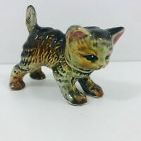 ANTIQUE VINTAGE KITTEN CAT ORNAMENT FIGURE CERAMIC FOREIGN