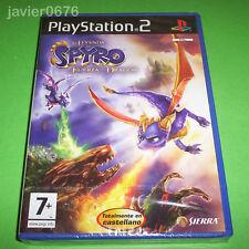 LA LEYENDA DE SPYRO LA FUERZA DEL DRAGON NUEVO PAL ESPAÑA PLAYSTATION 2 PS2
