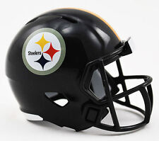 NEW NFL American Football Riddell SPEED Pocket Pro Helmet PITTSBURGH STEELERS