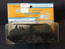 Vintage Roco Ho Scale Minitanks Z-232 Armored Recovery Vehicle M-88 Tank Moc