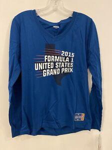 United States Formula 1 Racing Women's Long Sleeve NEW Large 2232