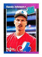 Randy Johnson #42 (1989 Donruss) Rated Rookie Card, Montreal Expos, HOF