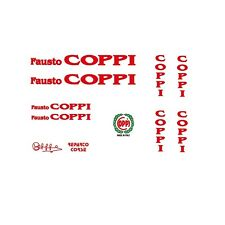 Coppi Bicycle Decals-Transfers-Stickers #230