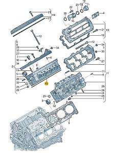 Original Zylinderkopfdichtung (059103383MQ) für verschiedene VW/Audi Modelle