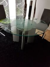 Designer Esstisch Ronald Schmitt K 750/E Glas