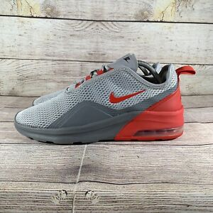 Nike Air Max Motion 2 Mens Red Grey Running Shoes C17589-001 Size 9 US