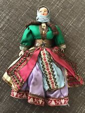New Listing Vintage Souvenir Doll Greece Late 1960s In Ethnic Dress