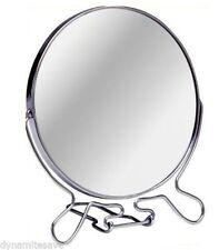 Silver Round Bathroom Mirrors