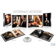 The Godfather Masterworks Collection Digibook region free blu-ray sealed