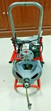 Used Ridgid K 400t2 Complete Drain Cleaning Machine169975 1 Local Pick Up Only