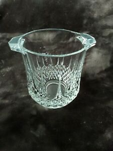 Crystal Champagne Bucket LONGCHAMP by CRISTAL D'ARQUES - Mint!