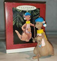 Vintage Hallmark Keepsake Ornament Kanga and Roo Winnie the Pooh with Box