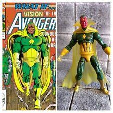 Marvel universe 3.75 3 3/4 custom action figure Visión vision avengers