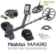 Nokta Simplex+ Metal Detector - Free Coil, Wireless Headphones & Bonus Ball Cap