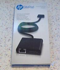 HP Ethernet Adapter mit Power Buchse für HP ElitePad 900 G1 + 1000 G2 # F9D31AA