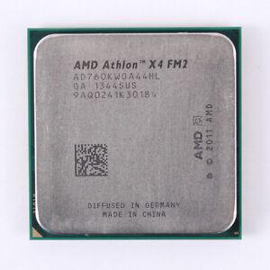 AMD Athlon X4 760K CPU Processors 3.8GHz 4M Quad-Core AD760KWOA44HL Socket FM2