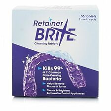 Retainer Brite Retainer Mouthguards Dentures &  Invisalign Cleaner - Tablets 36