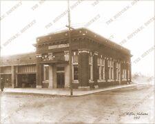 Heflin, Alabama 1937 8x10 Sepia Photo FREE SHIPPING!