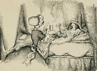 Harold Hope Read (1881-1959) - Pen and Ink Drawing, Waiting for a Hot Drink