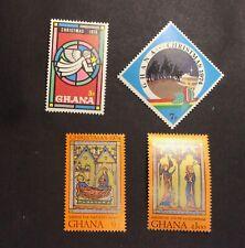 Ghana #544-#547, Mint, NH, OG
