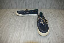 **Sperry Top-Sider Bahama II Varsity Boat (STS21522) Shoe - Men's Size 9.5 -Blue