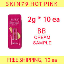 SKIN79 Hot Pink BB Cream Sample 20g (2g*10ea) -FREE shipping, fair/light null