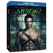 Arrow: The Complete First Season (Blu-ray/DVD, 2013, 9-Disc Set)