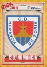 N°426 ESCUDO BADGE ECUSSON SCUDETTO # CD.NUMANCIA CARD PANINI MGK LIGA 2014