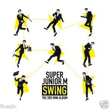 Super Junior M - Swing (3rd Mini Album) CD+Photocard+Gift Photo NEW SEALED k-pop