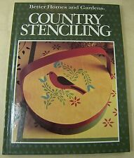 Country Stenciling Book Beautiful Designs & Instructions Better Homes & Gardens