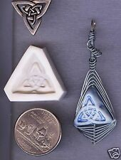 Celtic Trinity Knot Design Polymer Clay Mold