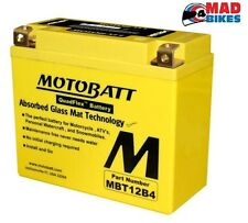 Ducati 800 Scrambler Haute Puissance AGM Motobatt Batterie 2015