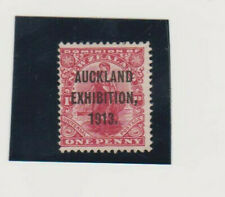 New Zealand. Auckland Exhibition 1913. Ovpt on Dominion Penny Red. Mint. VLH