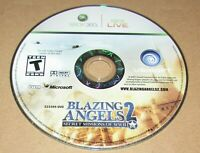 Blazing Angels 2: Secret Missions of WWII (Game Only) Xbox 360 Fast Shipping