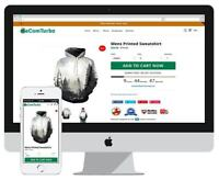 ECOM-TURBO  PREMIUM 2019  Responsive Highest Converting Shopify store