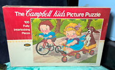 CAMPBELL'S ~ CAMPBELL KIDS ~ PICTURE PUZZLE ~ 100 PIECES ~ PLAYTIME BIKES ~ NEW