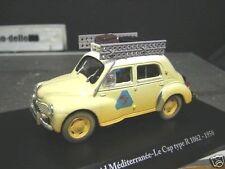 Renault 4cv 4 CV RAID rallye le cap r1063 1950 Ixo Altaya Eligor 1:43