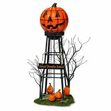 Department 56 Halloween Accessories for Village Collections Pumpkin Water Tower