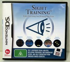 Sight Training for Nintendo DS & Works on 3DS / 2DS / XL - Free Post